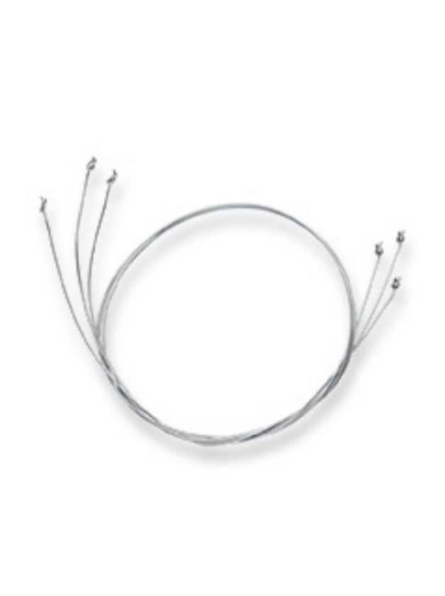 3 pcs. cutting wires 24cm, carded