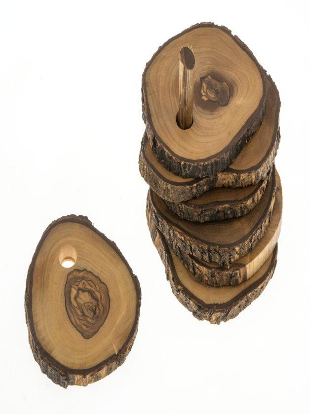Σετ Σουβέρ Ακανόνιστο Φλούδα, 6 τεμαχίων