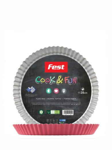 Fest Cook & Fun Fest Αντικολλητική Φόρμα Τάρτας Νο28