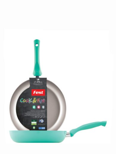 Fest Cook & Fun Fest Αντικολλητικό Τηγάνι Νο 26