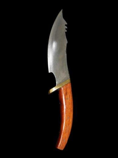 Μαχαίρι Επιβίωσης με Ξύλινη Λαβή