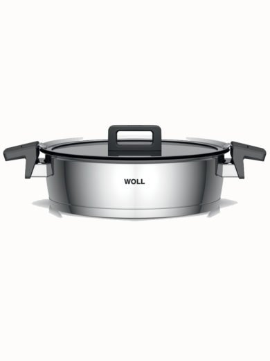 Woll Concept Saute Pan 28cm, matching safety glass lid