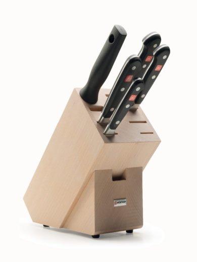 Wusthof Classic Block Μαχαιριών 5 Θέσεων