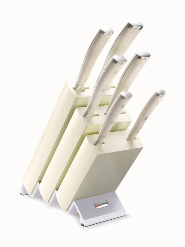 Wusthof Classic Ikon Crème Block Μαχαιριών 6 Τεμαχίων