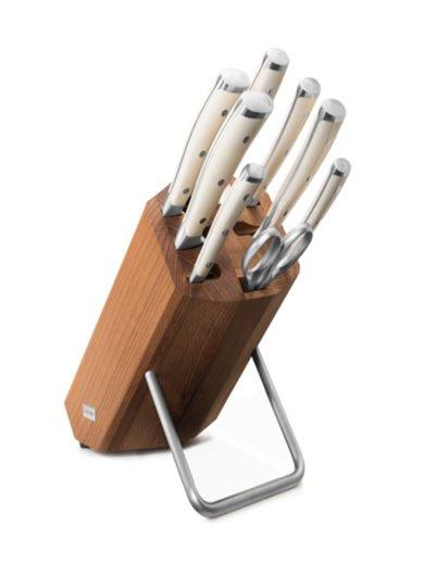 Wusthof Classic Ikon Creme Block Μαχαιριών 8 Τεμαχίων