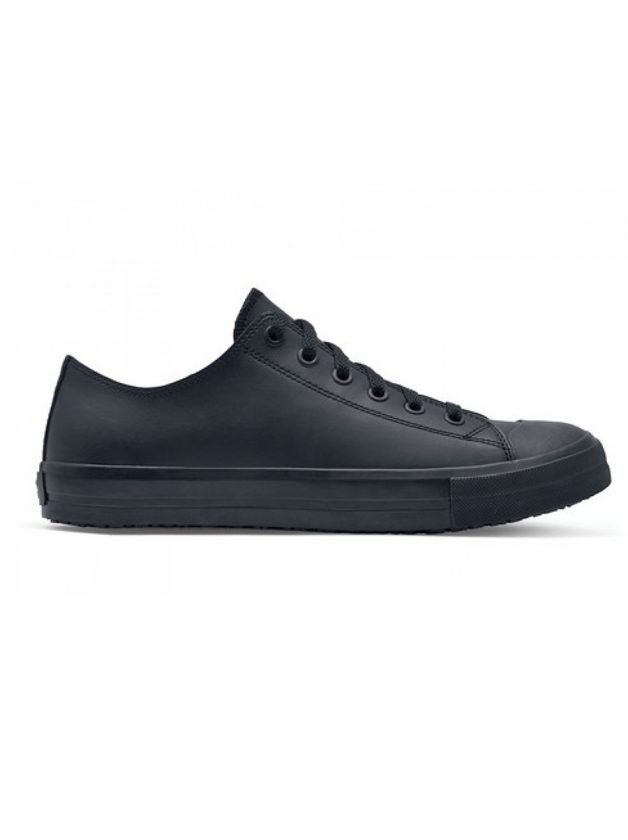 Shoes For Crews Delray-Leather Ανδρικό - Μαύρο