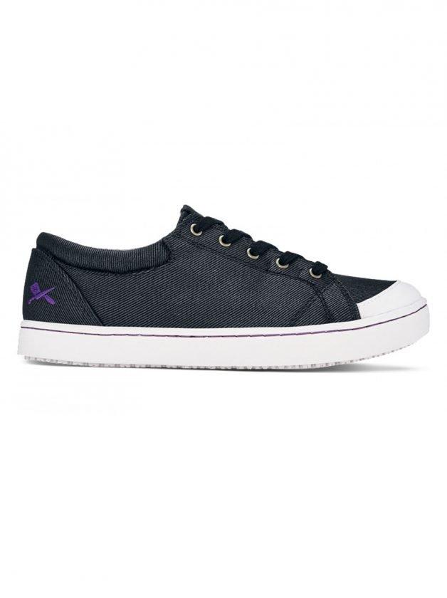 Shoes For Crews Παπούτσι Maven Μαύρο/Άσπρο