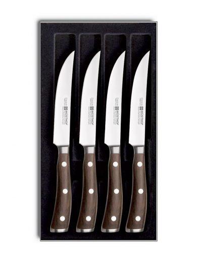 Wusthof Ikon Σετ 4 Μαχαιριών Μπριζόλας