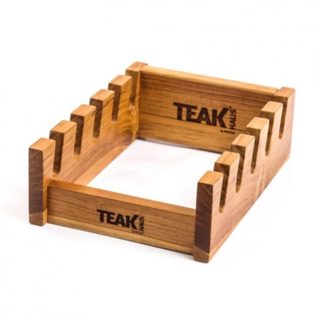 TEAK HAUS Βάση στήριξης ξύλων κοπής 5 θέσεων
