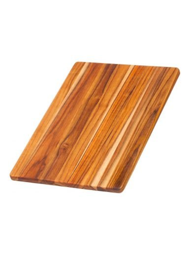 TEAK HAUS Essential Collection Rectangle Edge Grain Cutting/Serving Board 40x 27,9 x 1,4 cm