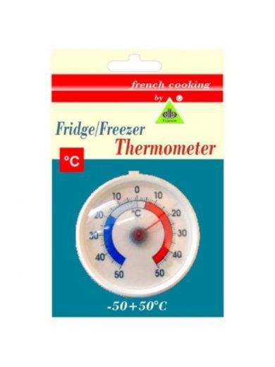 AllaFrance, Θερμόμετρο Ψυγείου και Κατάψυξης, Στρογγυλό, -50 έως +50°C
