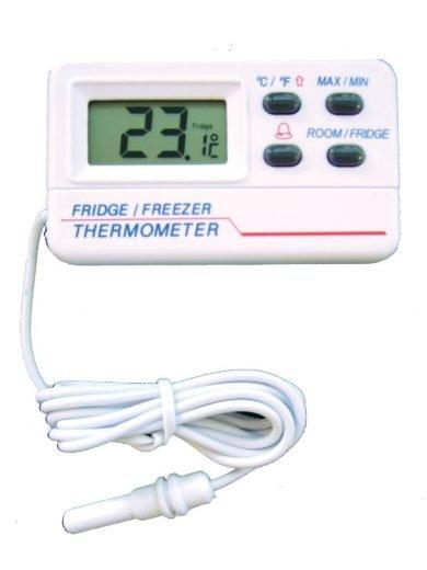 AllaFrance, Θερμόμετρο Ψυγείου - Κατάψυξης, -50 έως +70°C
