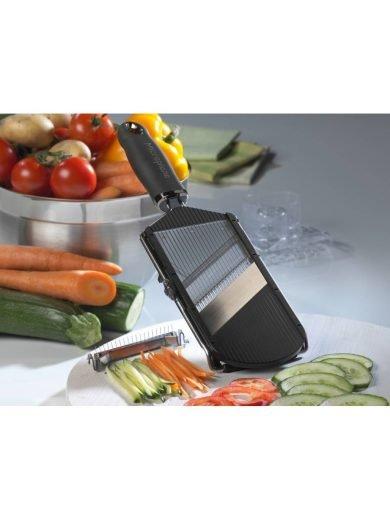Microplane Adjustable Slicer, Ρυθμιζόμενος Κόφτης για Φέτες & Μπαστουνάκια λαχανικών