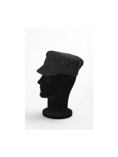 Καπέλο σεφ μαύρο συνθετικό Tommy Black