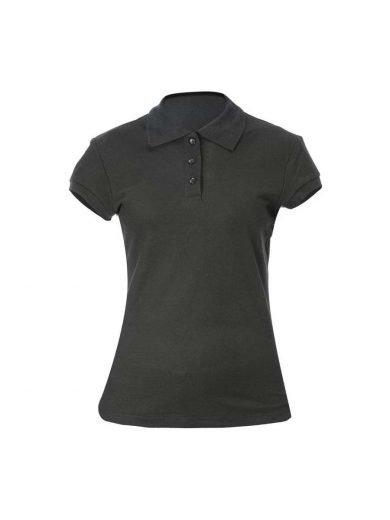 Giblor's Γυναικεία Μπλούζα Polo Μαύρη