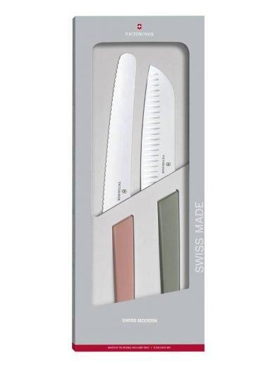 Victorinox Swiss Modern, Σετ μαχαιριών 2 τμχ. σε συσκευασία δώρου Swiss Modern