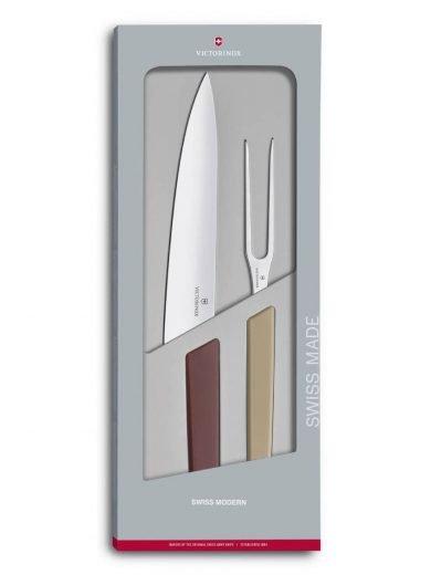 Victorinox Swiss Modern, Σετ Ψητού Carving 2 τμχ, Σε Συσκευασία Δώρου