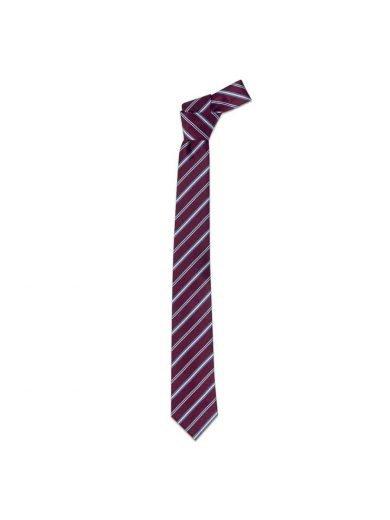 Giblor's Γραβάτα Μπορντό Ριγέ