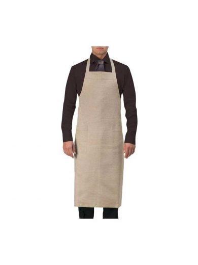 Giblor's Ποδιά Στήθους Bib Brown Καφέ