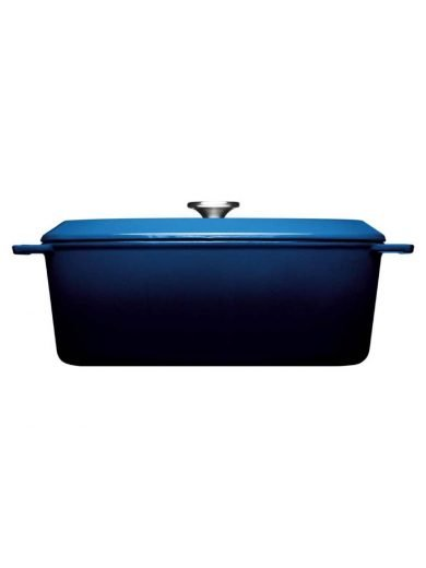Woll Γάστρα Cobalt Blue Iron 34x26 εκ 7,5 λτ