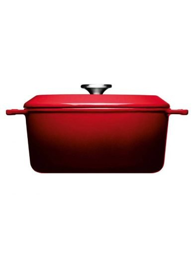 Woll Χύτρα Chili Red Iron 24 εκ 4,2 λτ