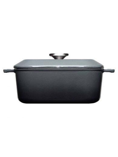Woll Χύτρα Carbon Grey Iron 24x24 εκ  4,1 λτ