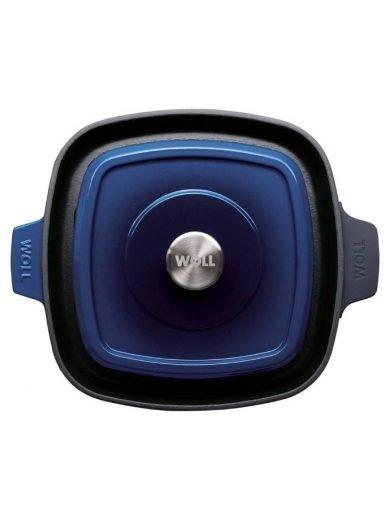 Woll Γκριλιέρα Cobalt Blue Iron 24x24 εκ
