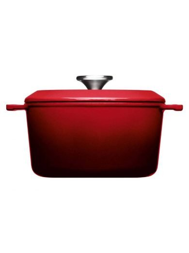 Woll Χύτρα Chili Red Iron 20 εκ 2,8 λτ