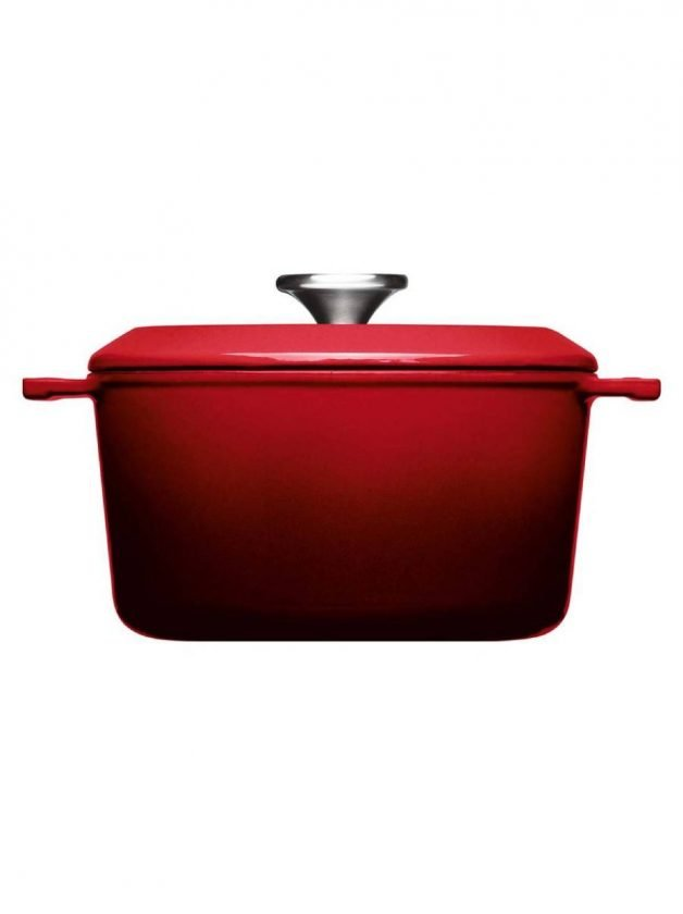 Χύτρα μαντεμένια 2.8 λτ. επισμαλτωμένη κόκκινη 20 εκατ. Chili Red Iron