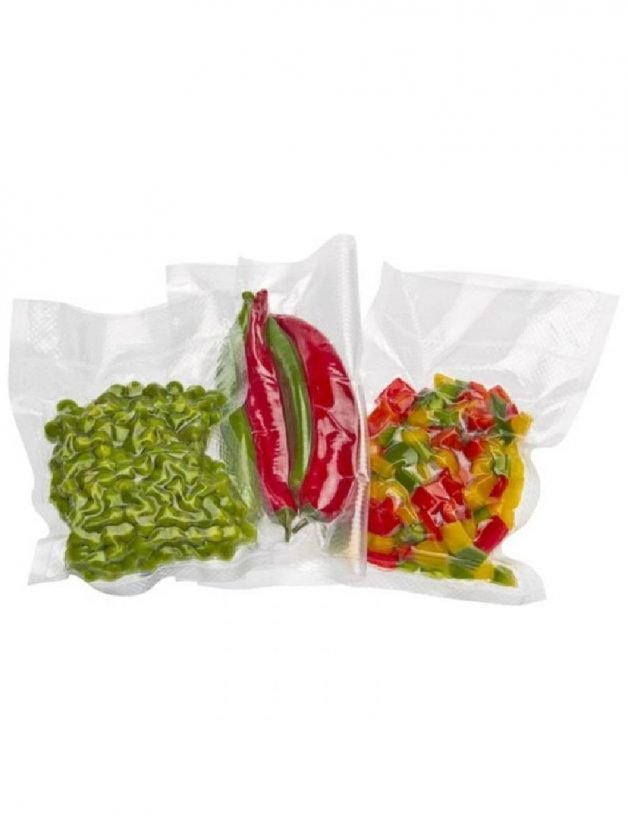 Status, Σακούλες Vacuum Συντήρησης Τροφίμων 28x36 εκατ. Σετ 100 τμχ