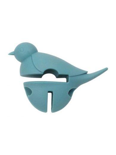 Dexam Βάση σιλικόνης για κουτάλα γαλάζια Little Birds