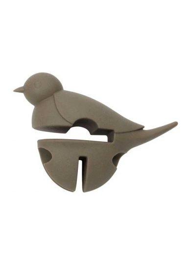 Dexam Βάση σιλικόνης για κουτάλα γκρι Little Birds