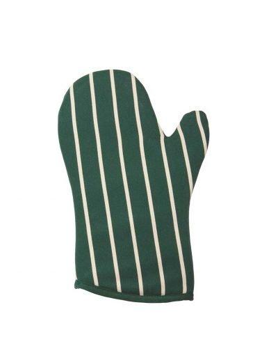 Dexam Γάντι Βαμβακερό Πράσινο Με Ρίγες