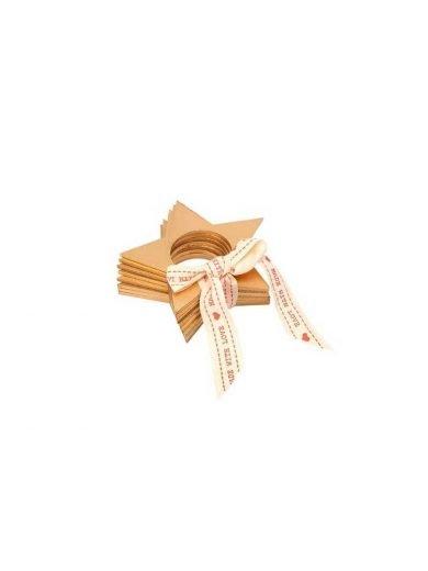Dexam Δαχτυλίδια Για Πετσέτες Φαγητού Αστέρι Σετ 4 τμχ