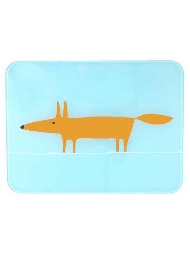 Dexam Επιφάνεια κοπής γυάλινη 30x40 εκατ. Scion Living Fox Blue
