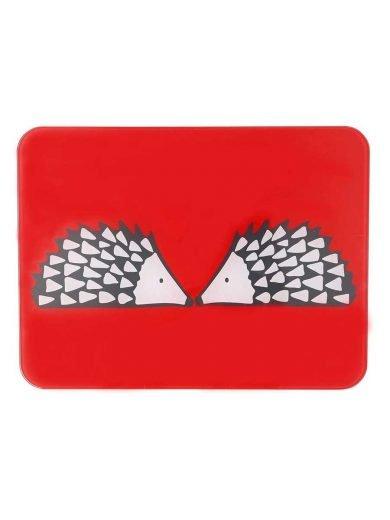 Dexam Επιφάνεια κοπής γυάλινη 30x40 εκατ. Scion Living Red Spike