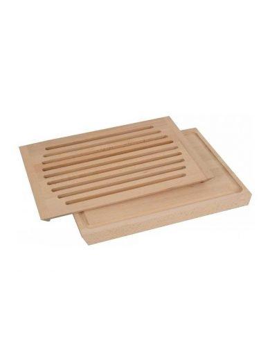 Drevotvar Επιφάνεια κοπής ψωμιού από ξύλο οξιάς, 40x30x2.2 εκατ.