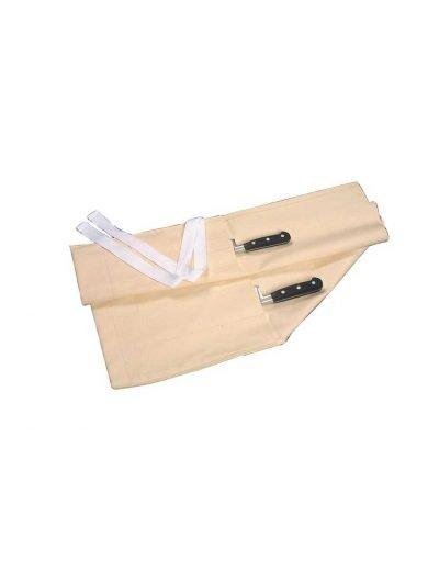 Dexam Θήκη μαχαιριών σε ρολό, λευκή 10 θέσεων
