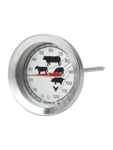 Dexam Θερμόμετρο κρέατος ανοξείδωτο με σχήματα 0 έως +120°C