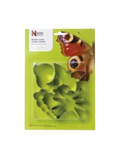 Dexam Κουπ-πατ από λευκοσίδηρο ζώα του κήπου σετ 4 τμχ. Garden Creatures