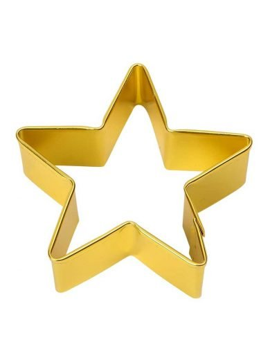 Dexam Κουπ-πατ αστέρι μεταλλικό κίτρινο 4 εκατ.