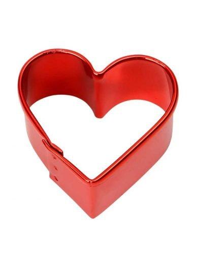 Dexam Κουπ-πατ καρδιά μεταλλικό κόκκινο 4 εκατ.