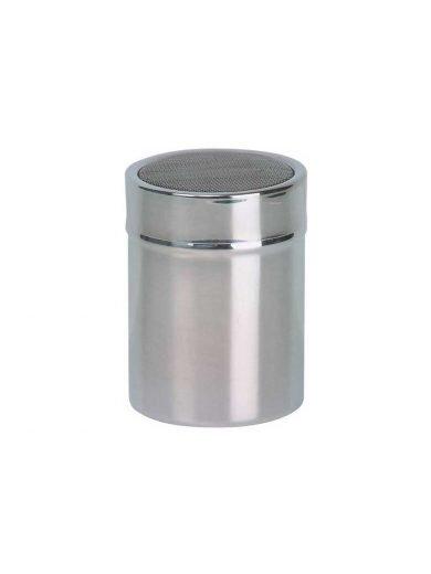 Dexam Κόσκινο ανοξείδωτο σε δοχείο για αλεύρι ή ζάχαρη