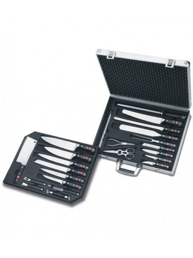 Wusthof Βαλίτσα με 25 Μαχαίρια και Εργαλεία