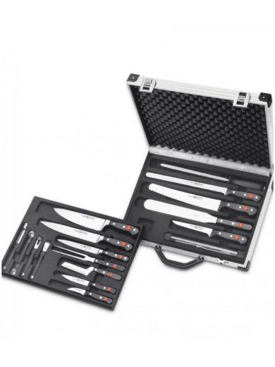 Wusthof Βαλίτσα με 18 Μαχαίρια και Εργαλεία