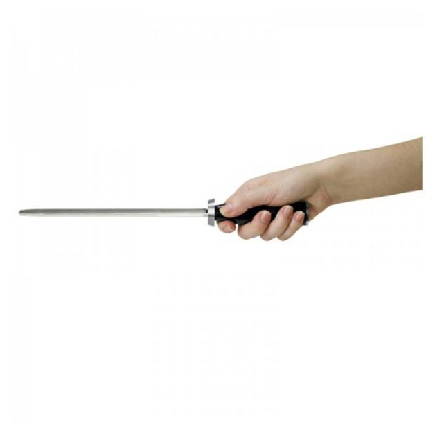 KAI Shun Classic Μασάτι Ακονίσματος 23cm με Μάυρη Ξύλινη Λαβή